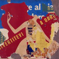 Mimmo Rotella. Decollages e retro d'affiches