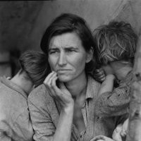 "Dorothea Lange.   Photographs ""A Visual Life"""