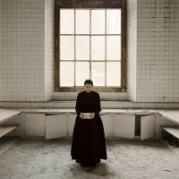 "Marina Abramovic  ""Holding the milk"""