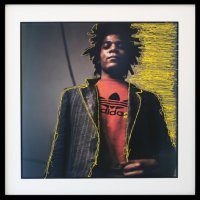 "Serena Maisto  ""Time Line. My Walk with Basquiat"""