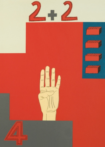 Nathalie du Pasquier. Counting