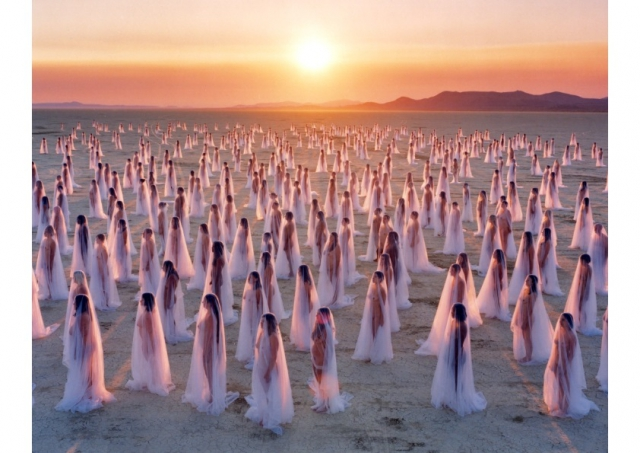 "Spencer Tunick ""Nudes"""