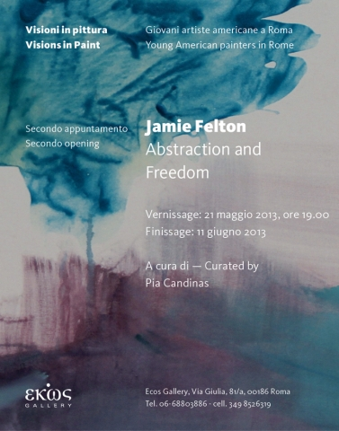Jamie Felton. Abstraction and Freedom